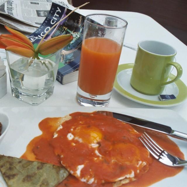 Huevos rancheros, México City