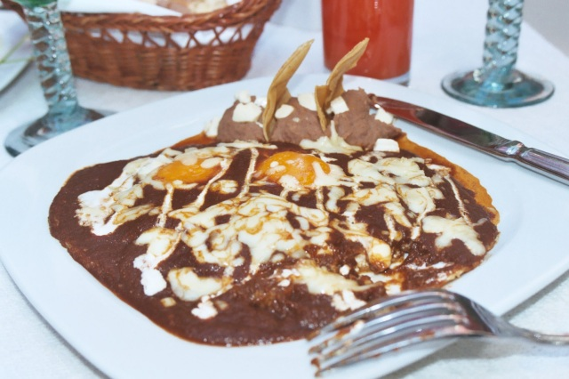 Huevos rancheros, Puebla